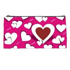Valentine Hearts  Pencil Case