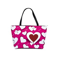 Valentine Hearts  Large Shoulder Bag