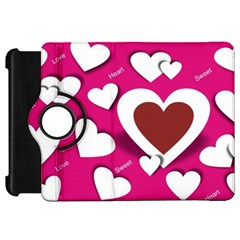 Valentine Hearts  Kindle Fire HD 7  (1st Gen) Flip 360 Case