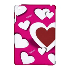 Valentine Hearts  Apple Ipad Mini Hardshell Case (compatible With Smart Cover)