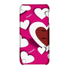 Valentine Hearts  Apple Ipod Touch 5 Hardshell Case With Stand