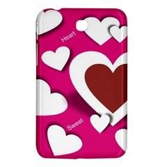 Valentine Hearts  Samsung Galaxy Tab 3 (7 ) P3200 Hardshell Case