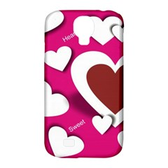 Valentine Hearts  Samsung Galaxy S4 Classic Hardshell Case (PC+Silicone)