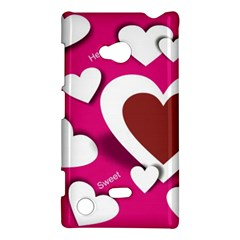 Valentine Hearts  Nokia Lumia 720 Hardshell Case