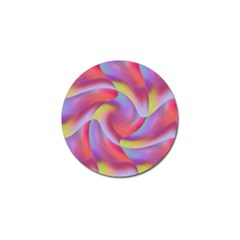 Colored Swirls Golf Ball Marker