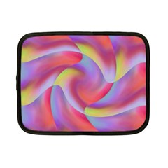 Colored Swirls Netbook Sleeve (small)