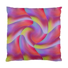 Colored Swirls Cushion Case (Two Sided)