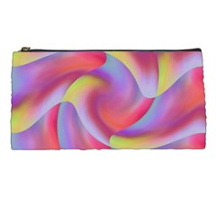 Colored Swirls Pencil Case