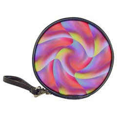 Colored Swirls Cd Wallet