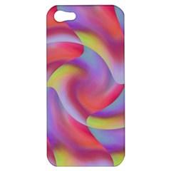 Colored Swirls Apple Iphone 5 Hardshell Case