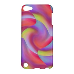 Colored Swirls Apple Ipod Touch 5 Hardshell Case