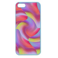 Colored Swirls Apple Seamless Iphone 5 Case (color)