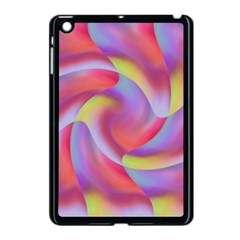 Colored Swirls Apple Ipad Mini Case (black)