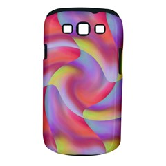 Colored Swirls Samsung Galaxy S III Classic Hardshell Case (PC+Silicone)