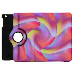 Colored Swirls Apple iPad Mini Flip 360 Case