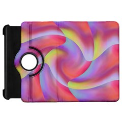 Colored Swirls Kindle Fire Hd 7  (1st Gen) Flip 360 Case