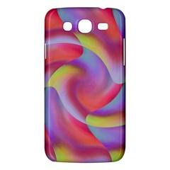 Colored Swirls Samsung Galaxy Mega 5.8 I9152 Hardshell Case