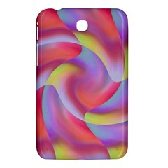 Colored Swirls Samsung Galaxy Tab 3 (7 ) P3200 Hardshell Case