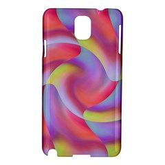 Colored Swirls Samsung Galaxy Note 3 N9005 Hardshell Case