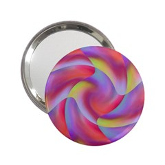 Colored Swirls Handbag Mirror (2.25 )