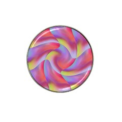 Colored Swirls Golf Ball Marker (for Hat Clip)