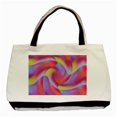 Colored Swirls Classic Tote Bag