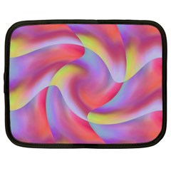 Colored Swirls Netbook Sleeve (XXL)