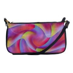 Colored Swirls Evening Bag