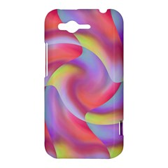 Colored Swirls HTC Rhyme Hardshell Case