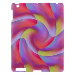 Colored Swirls Apple iPad 3/4 Hardshell Case