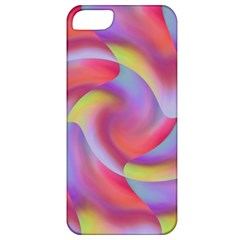 Colored Swirls Apple iPhone 5 Classic Hardshell Case