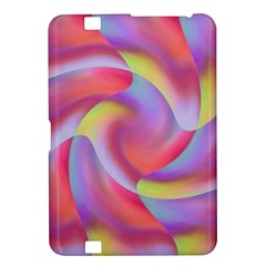 Colored Swirls Kindle Fire HD 8.9  Hardshell Case