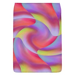 Colored Swirls Removable Flap Cover (Small)
