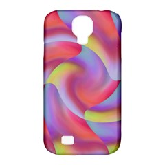 Colored Swirls Samsung Galaxy S4 Classic Hardshell Case (PC+Silicone)