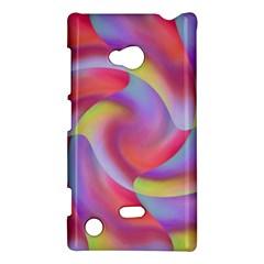 Colored Swirls Nokia Lumia 720 Hardshell Case