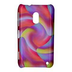 Colored Swirls Nokia Lumia 620 Hardshell Case