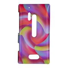 Colored Swirls Nokia Lumia 928 Hardshell Case