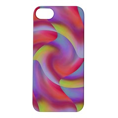 Colored Swirls Apple iPhone 5S Hardshell Case
