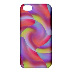 Colored Swirls Apple iPhone 5C Hardshell Case