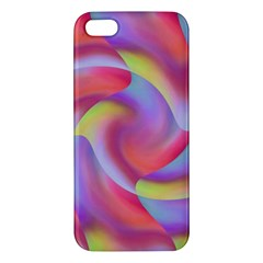 Colored Swirls iPhone 5S Premium Hardshell Case