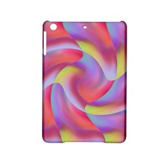 Colored Swirls Apple iPad Mini 2 Hardshell Case