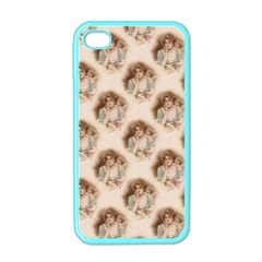 Vintage Valentine Apple iPhone 4 Case (Color)