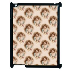 Vintage Valentine Apple iPad 2 Case (Black)