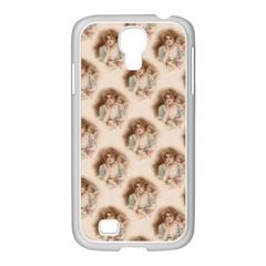 Vintage Valentine Samsung GALAXY S4 I9500/ I9505 Case (White)