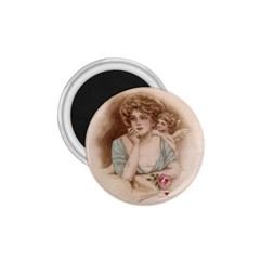 Vintage Valentine 1.75  Button Magnet