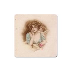 Vintage Valentine Magnet (Square)