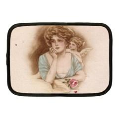 Vintage Valentine Netbook Sleeve (Medium)