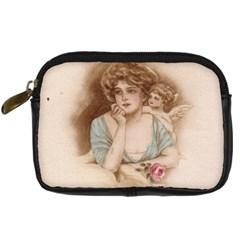 Vintage Valentine Digital Camera Leather Case