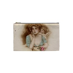 Vintage Valentine Cosmetic Bag (Small)