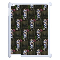 Vintage Photo Valentine  Apple iPad 2 Case (White)